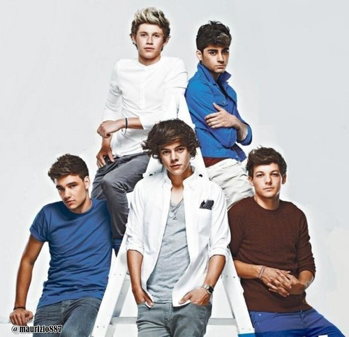 one direction, TV Magazine 2012