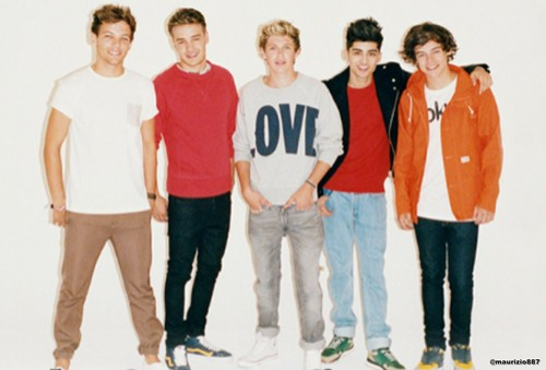 one direction the Sunday Times new photoshoot