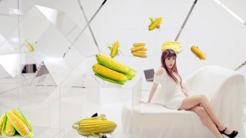 park bom 2ne1 and corn series