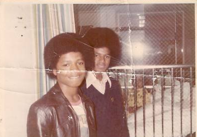 rare Michael & little brother Randy