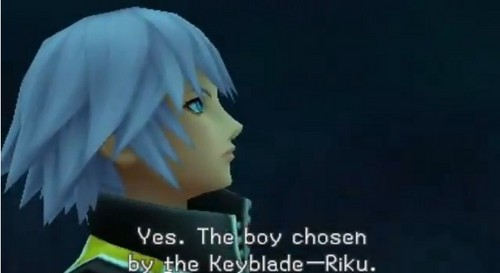 riku was originally chosen 由 the keyblade