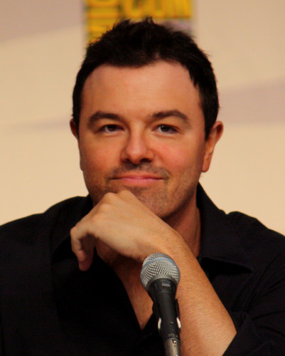 Seth MacFarlane wallpaper probably containing a business suit and a concert titled seth