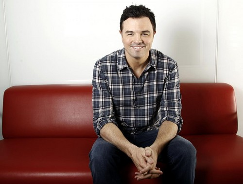 Seth MacFarlane wallpaper with a couch, a davenport, and a chesterfield entitled seth