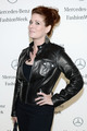 the Mercedes-Benz Star Lounge during Mercedes-Benz Fashion Week - debra-messing photo
