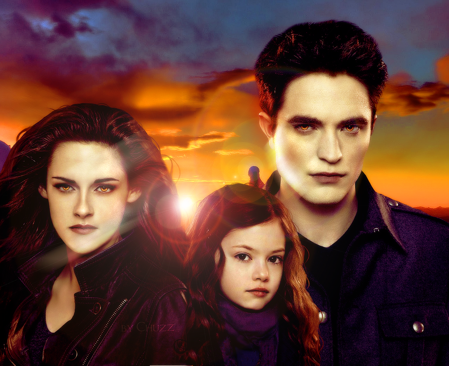 Renesmee Cullen And Bella And Edward