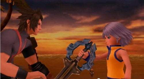 when Terra passed Riku the power