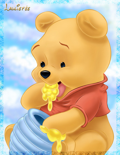 O Ursinho Puff wallpaper entitled winnie the pooh