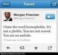 yes, morgan freeman. yes. - gay-rights photo