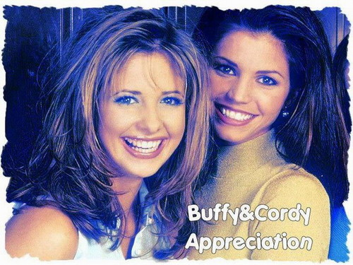 Buffy and Cordelia