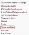 """Chuck and Blair"" trended (worldwide) naturally multiple times while 6x01 aired! - blair-and-chuck photo"