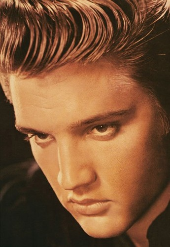Ingrid's Graceland wallpaper containing a portrait entitled ♥ Elvis Presley ♥