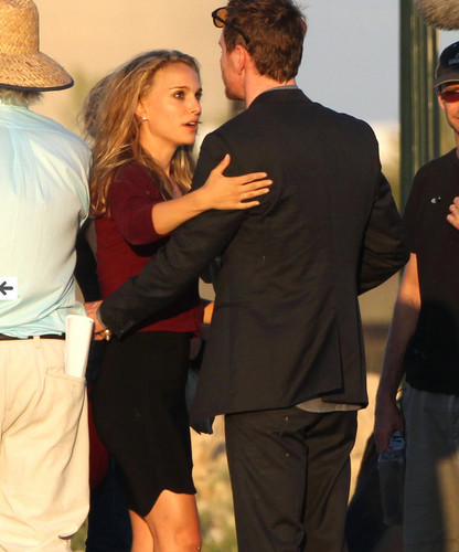 Filming with Michael Fassbender in Austin, For An Unkn Terrence Mallick Project (10/9/12)
