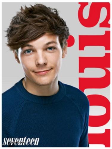 Louis Tomlinson ,Seventeen Magazine photoshoot 2012
