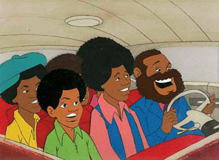 """The Jackson 5"" Cartoon"