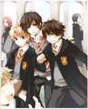 """We solemnly swear that we are up to no good~"" - harry-potter-anime photo"