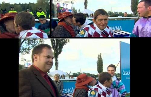 jockeys kisses