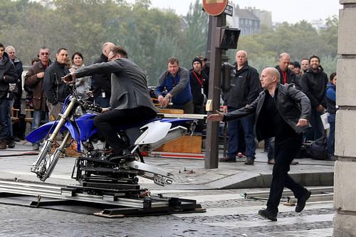 "10/11/2012 - On ""RED 2"" Set in Paris"