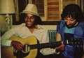 19 YEAR OLD MICHAEL PLAYING GUITAR - michael-jackson photo