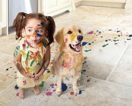 2 little artists :)