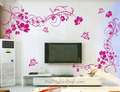 2 sets Beautiful flor With mariposa muro Stickers