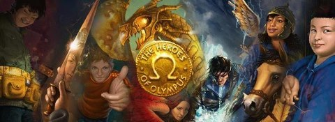 The Heroes of Olympus kertas dinding called 6 Heroes of Olympus + Ella and Festus