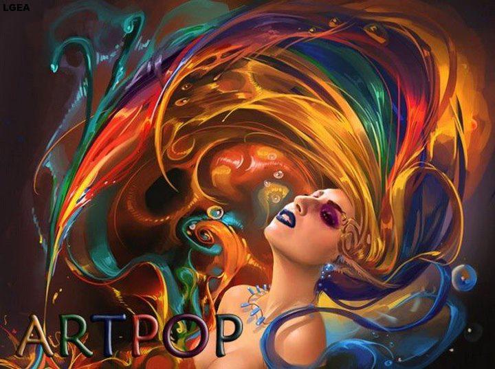 Painting Art Phoenix Fire Fantasy Digital Drawing: ARTPOP 2013 (Japanese Version)