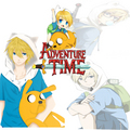 Adventure Time 日本动漫 Finn, Jake And Bemmo