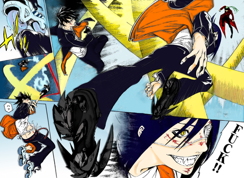 Air Gear Ikki & Agito