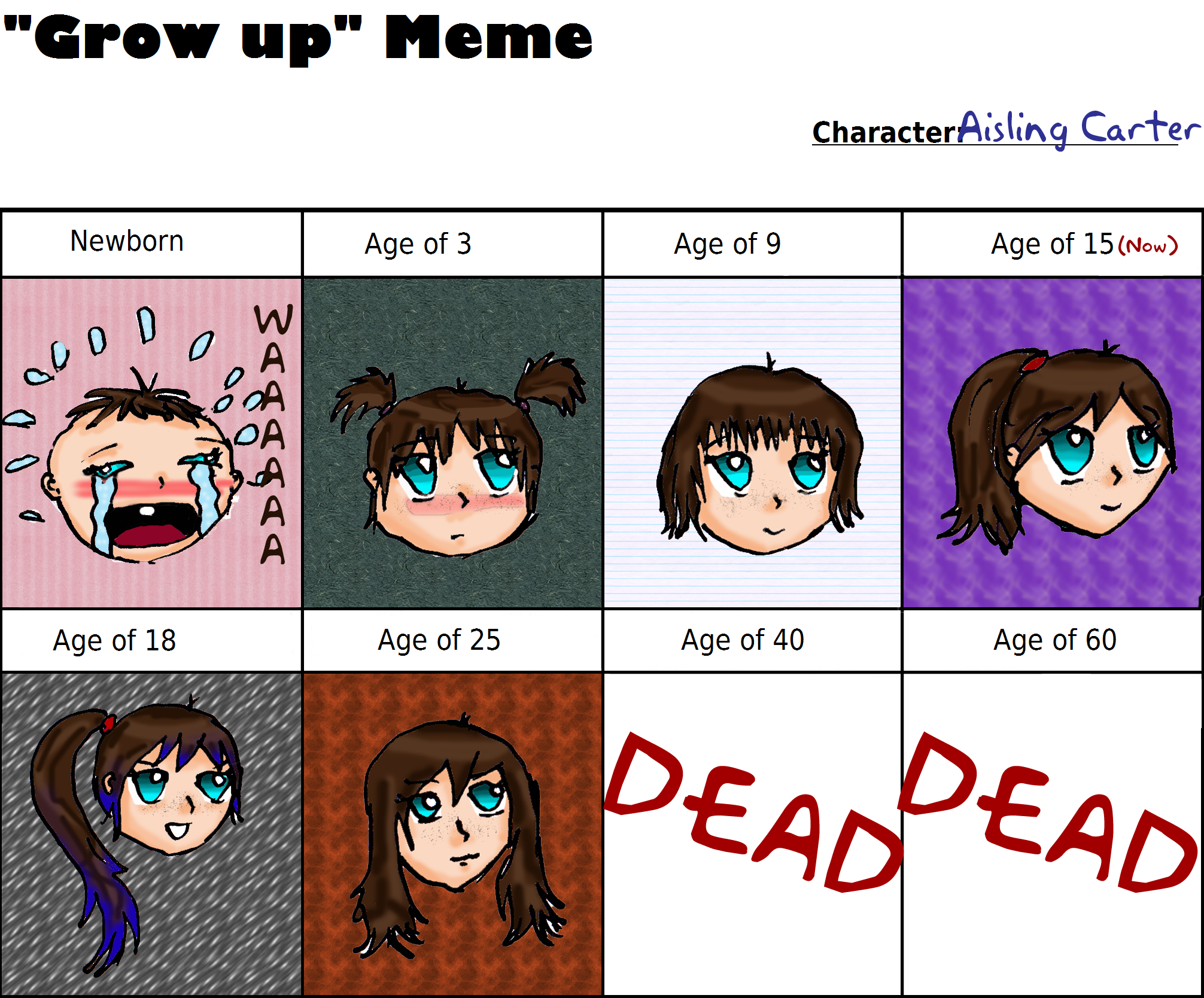 Aisling Through the Years!