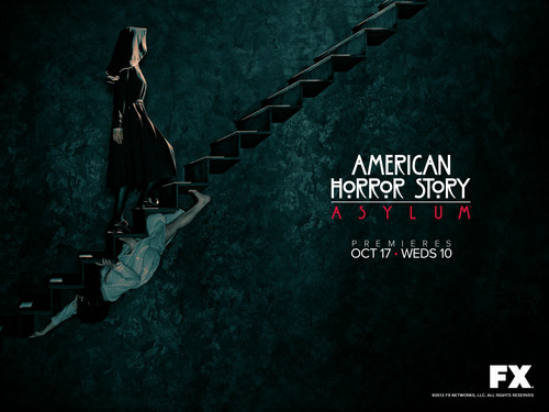American Horror Story wallpaper probably with a sign and anime called American Horror Story: Asylum