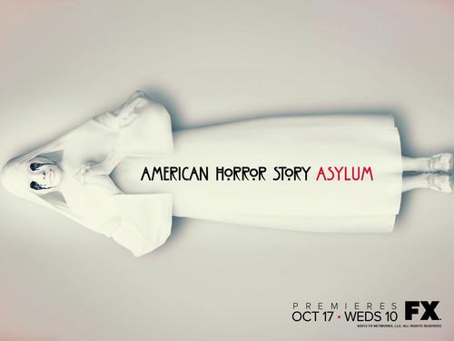 अमेरिकन हॉरर स्टोरी वॉलपेपर titled American Horror Story: Asylum