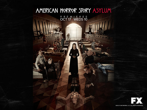 American Horror Story wallpaper possibly containing a street, a cellar, and a penal institution called American Horror Story: Asylum