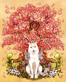 Ammy and Cherry Blossom