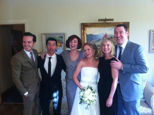 Andrew Scott at Sinead Keenan's Wedding