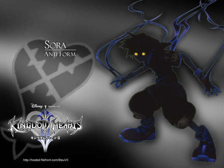 Kingdom Hearts 2 Обои titled Anti Sora