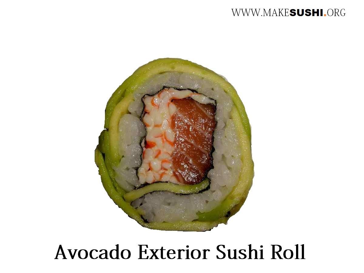 Avocado exterior california roll - Sushi Photo (32482188) - Fanpop