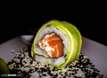 Avocado exterior california roll - sushi photo