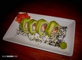 Avocado exterior california roll