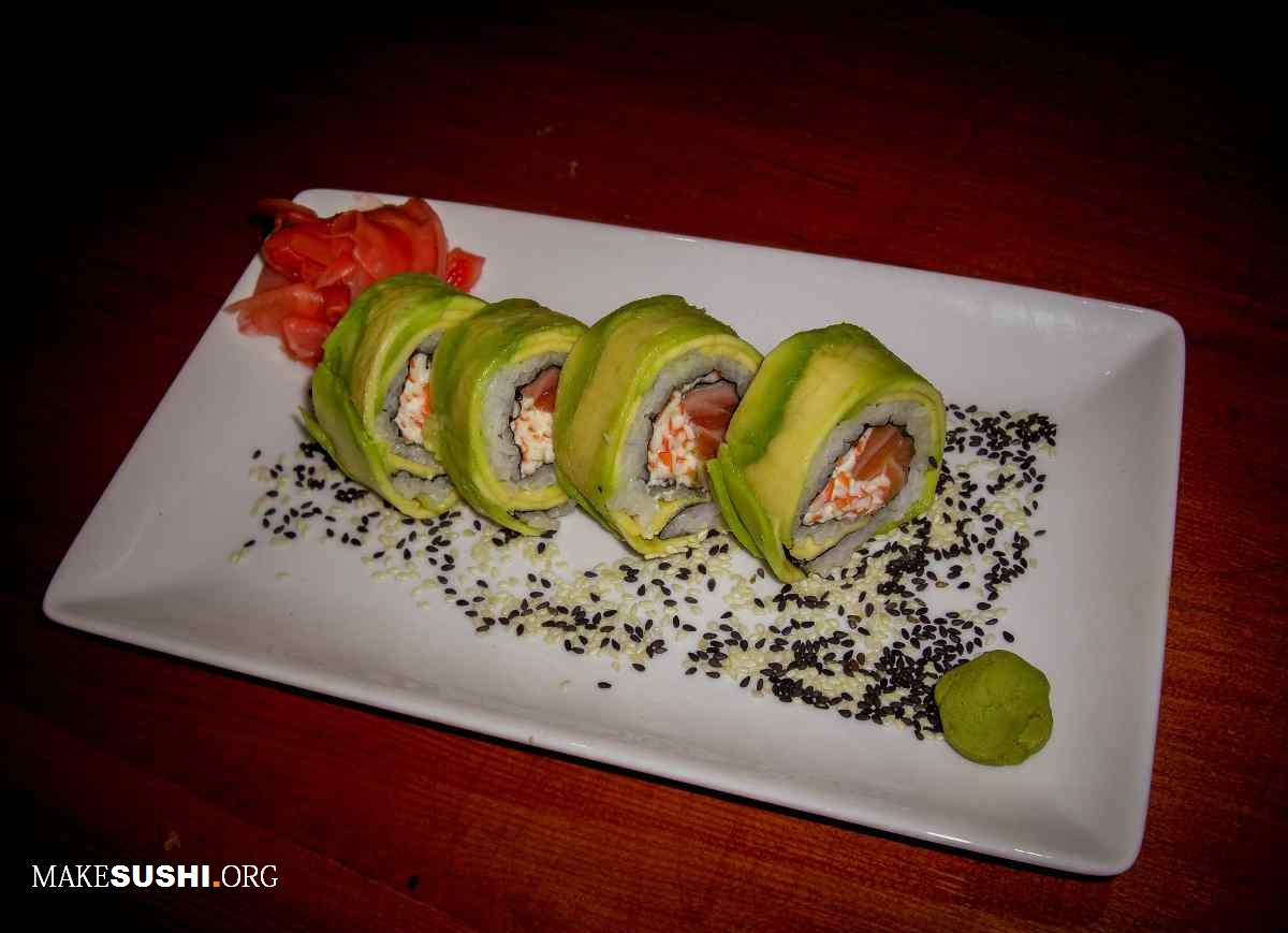 Sushi images Avocado exterior california roll HD wallpaper and ...
