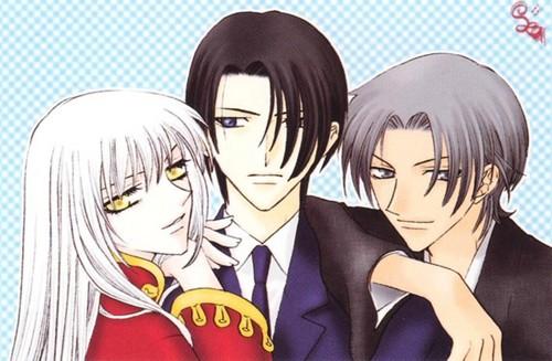 Ayame Hatori and Shigure