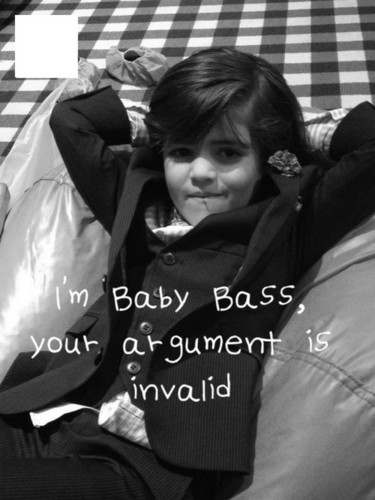 "Blair & Chuck wallpaper entitled BABY BASS ""Henry Bass"""