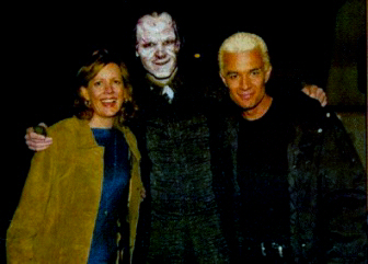 Buffy the Vampire Slayer wallpaper possibly with a well dressed person, a surcoat, and a box coat called BTVS >> Behind the scenes