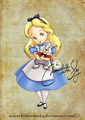 Baby Alice - classic-disney fan art