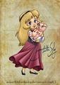 Baby Eilonwy - classic-disney fan art