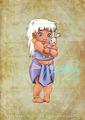 Baby Kida - classic-disney fan art