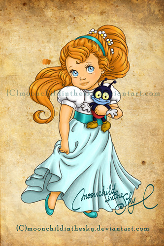 Thumbelina wallpaper probably with anime called Baby Thumbelina