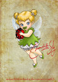 Baby Tinkerbell - classic-disney fan art