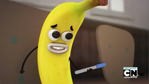 The Amazing World of Gumball achtergrond entitled banaan Joe