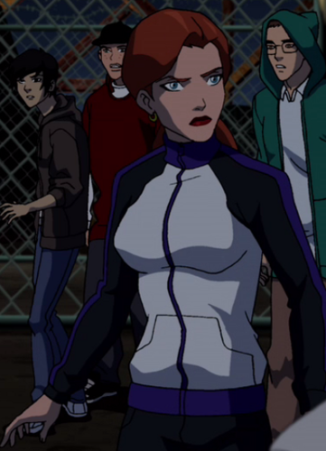 Young Justice OC'S!!! karatasi la kupamba ukuta with anime called Batgirl