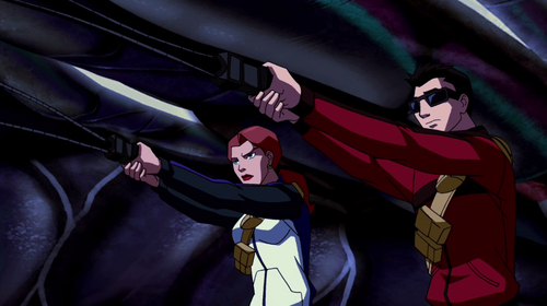 Young Justice OC'S!!! wallpaper possibly containing anime titled Batgirl